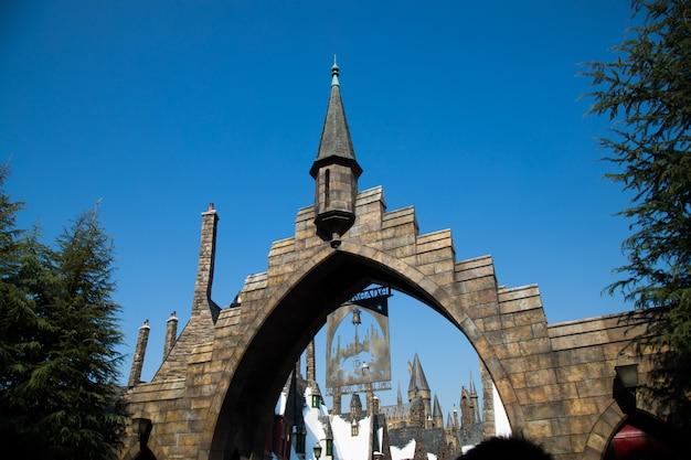 ホグワーツ城の写真。