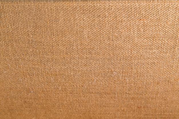 茶色の荒布の背景とテクスチャ