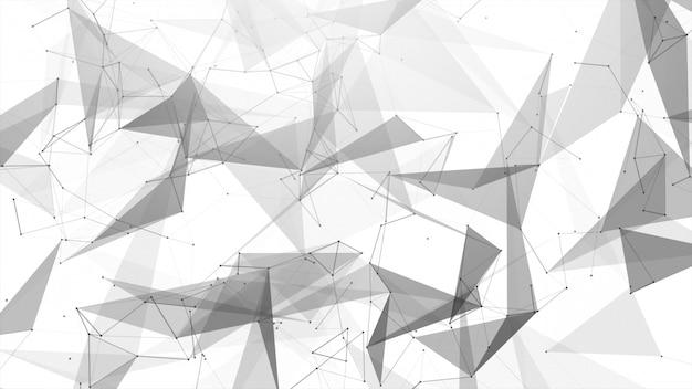 接続の抽象的な線
