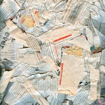 抽象的な新聞汚れた破損した背景