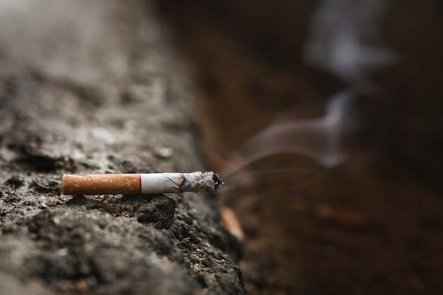 世界はタバコの日ではありません。喫煙を止め、健康のため喫煙をやめます。