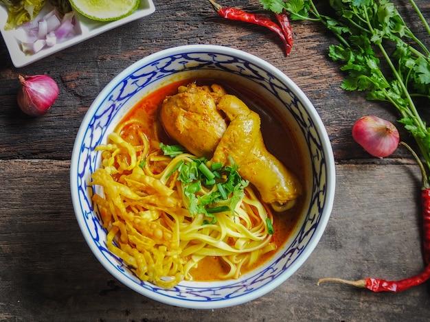 カオソイ会、タイ麺