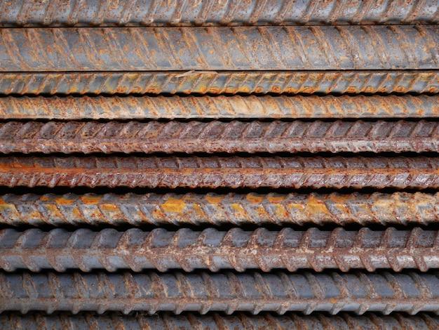さびた金属製の壁の背景
