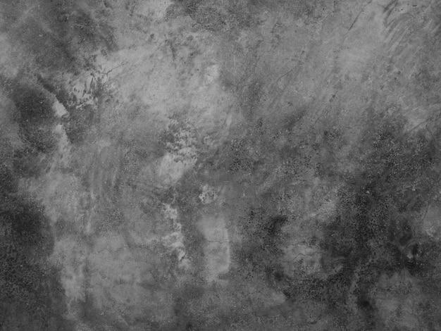 セメント壁背景、灰色のコンクリートの床