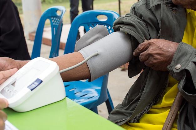 血圧計のメディカルチェック血圧