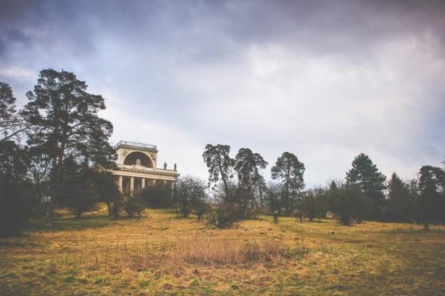 田舎の寺院