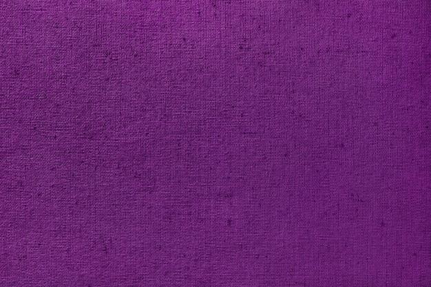 紫色の布布テクスチャ背景、自然な織物のシームレスパターン。