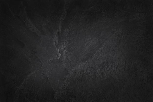 背景やデザインアート作品の高解像度で自然なパターンで暗い灰色の黒いスレートテクスチャ。黒い石の壁。