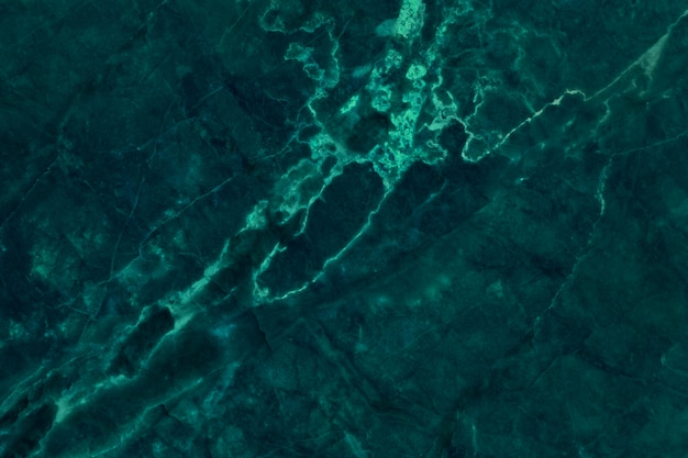暗い緑の大理石のテクスチャ背景のトップビュー