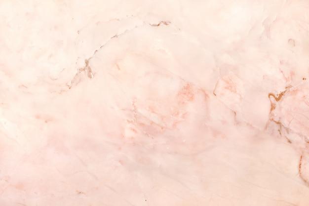 ローズゴールドの大理石のテクスチャ背景、自然なタイルの石の床のトップビュー