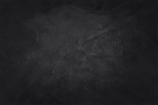 暗い灰色の黒いスレートテクスチャ背景