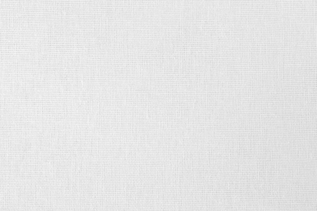 Текстура белой хлопчатобумажной ткани, бесшовные модели из натурального текстиля.