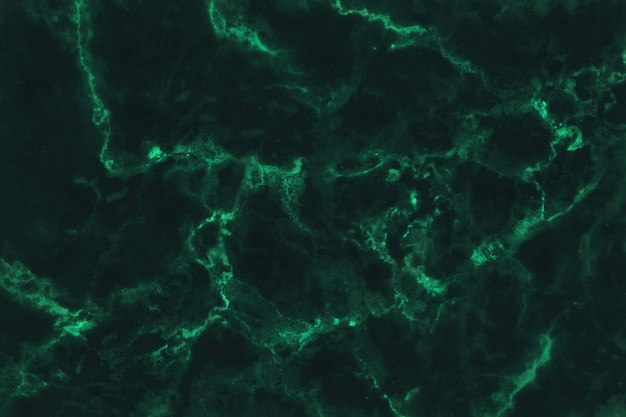 暗い緑の大理石のテクスチャ背景、自然なタイルの石造りの床のトップビュー