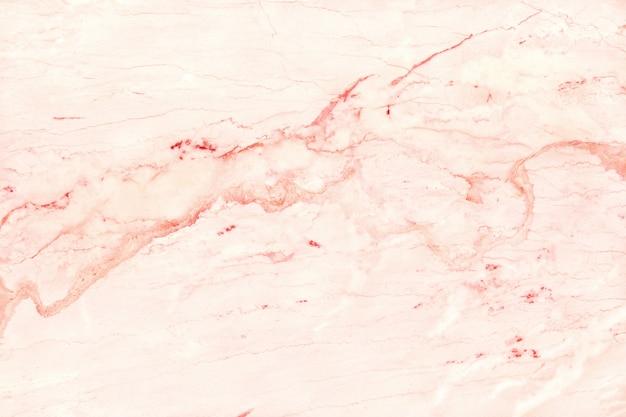 ローズゴールドの大理石のテクスチャ背景、自然なタイルの石の床。
