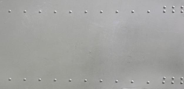 軍用機の金属表面