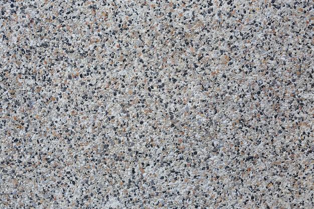 背景の小さな砂利とコンクリートミックス