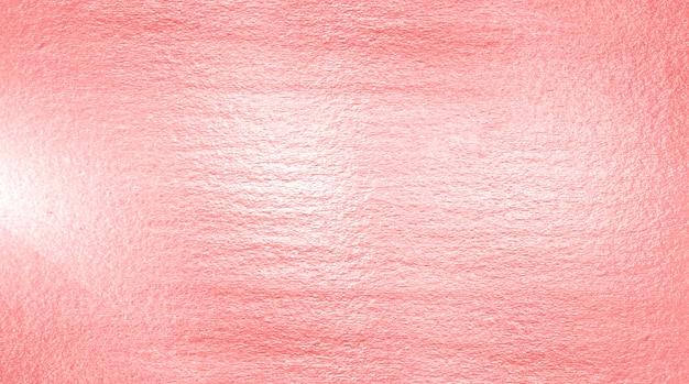 Текстура из фольги розового золота