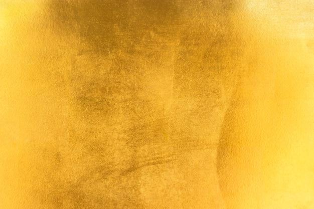 Блестящая желтая листовая текстура из фольги