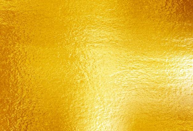 光沢のある黄色い葉ゴールドの質感
