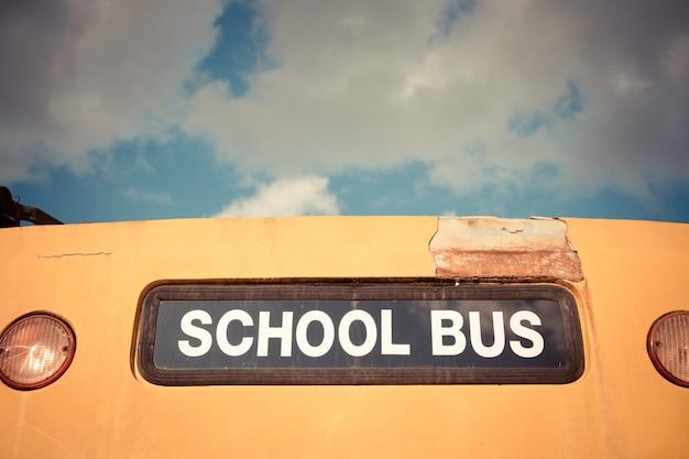 オールドスクールバス