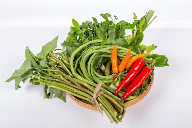 タイの新鮮な野菜