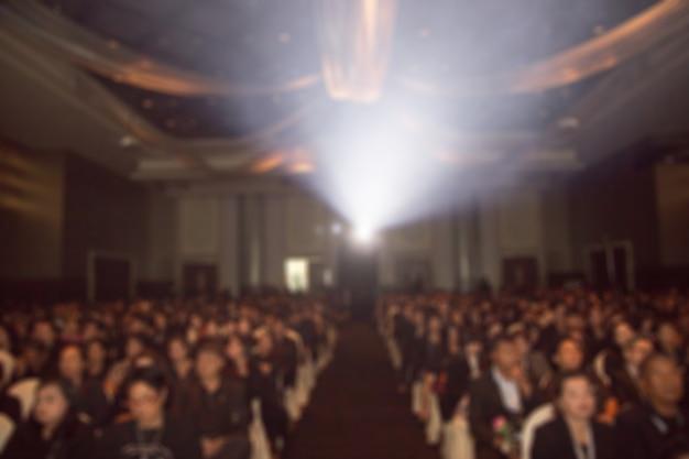 Дисфокус фон конференц-зала бизнес