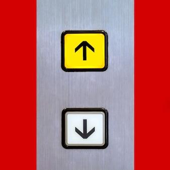 エレベーターのリフトボタン、エレベーターのリフトボタン