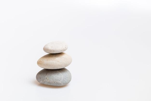 スパの背景のための禅石