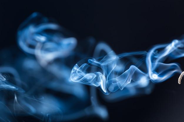 白い煙の動き
