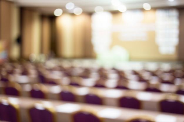 会議場の観客ビジネスと起業家精神ホワイトボードにコピースペース。