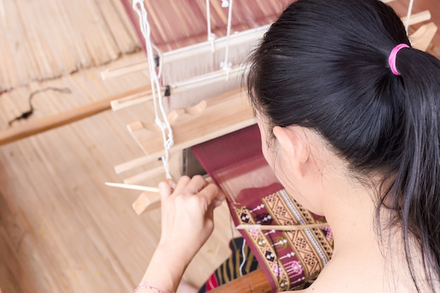 織り、タイ