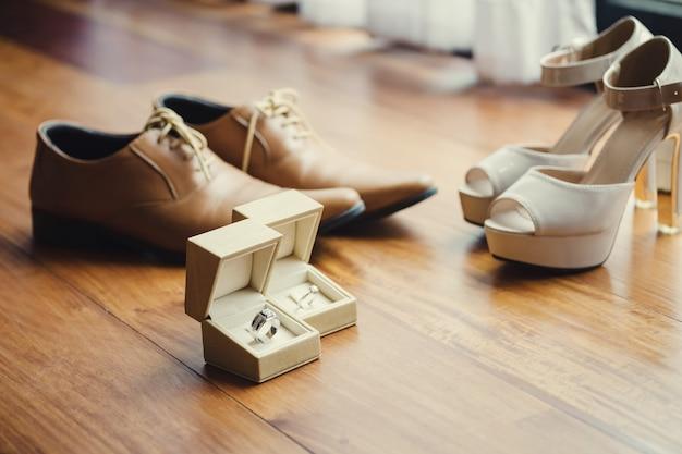 結婚式の日の結婚指輪