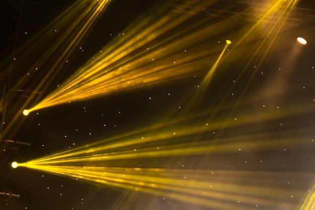 Сценический прожектор с лазерными лучами