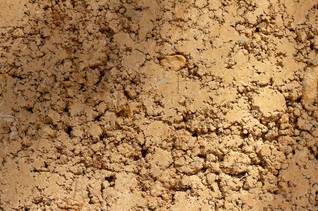 壁の背景は、住宅に粘土型粘土を作った