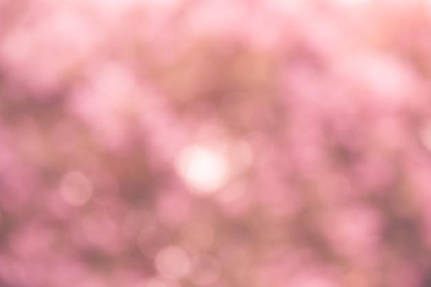 ピンクのボケの背景