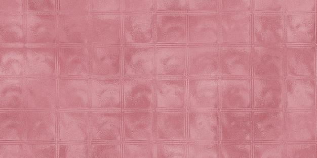 ガラスブロック壁表面の背景のパターン