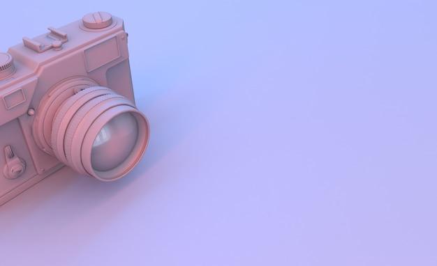 紫のカメラレンダー