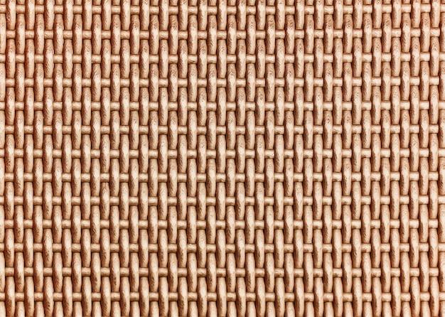 竹織りパターン表面テクスチャ背景