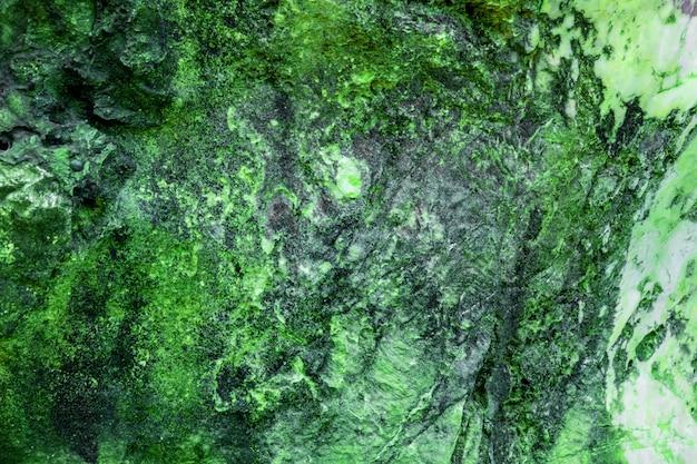 グリーンロックのカラフルな質感地質学テクスチャ背景