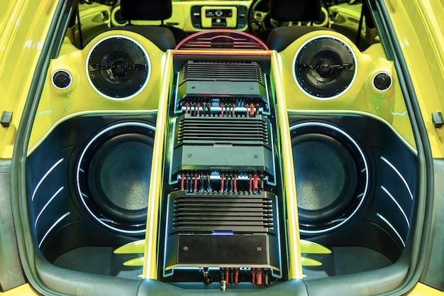 Мощная аудиосистема