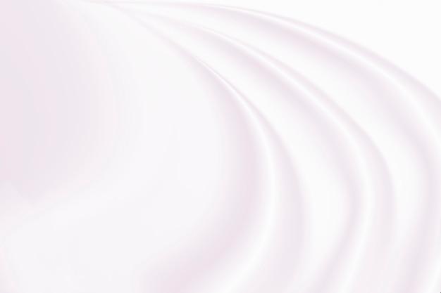 白い絹またはサテンの高級布のテクスチャ背景、滑らかでエレガントな色のバラの布ベッドシーツ