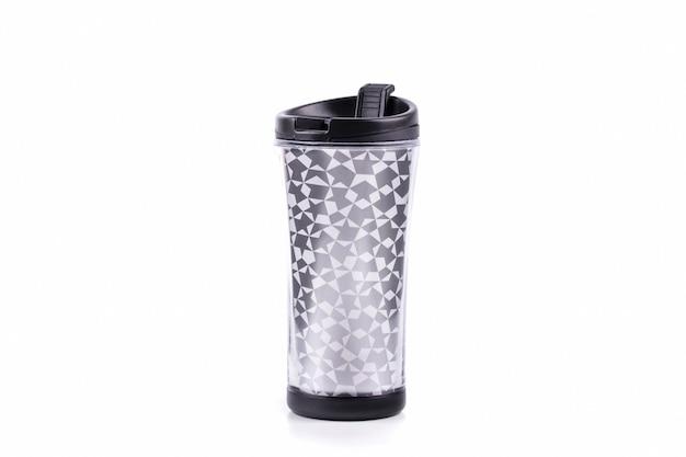 プラスチックタンブラーグラスまたは魔法瓶トラベルカップ