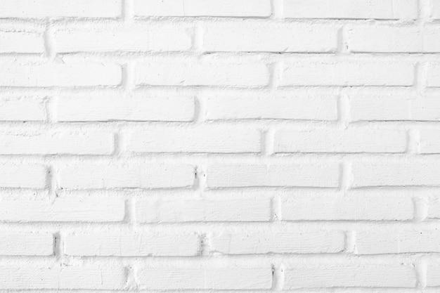白グランジレンガ壁のテクスチャ背景。