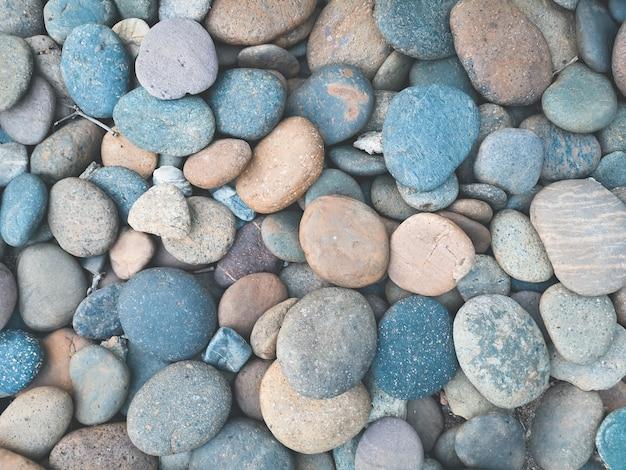 美しい色の石のパターン