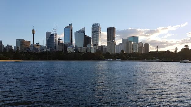 シドニー市のスカイライン