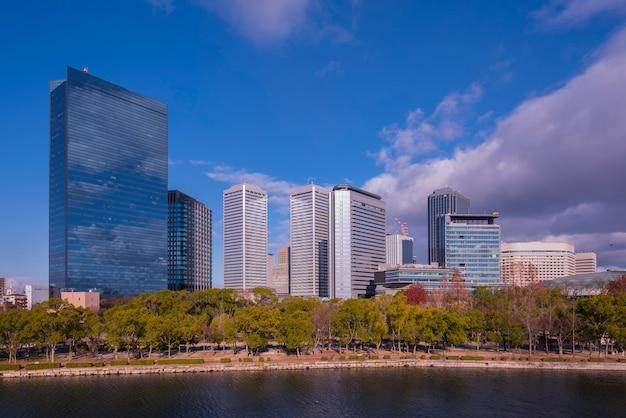 大阪キャストパーク、大阪日本の高層ビルビュー
