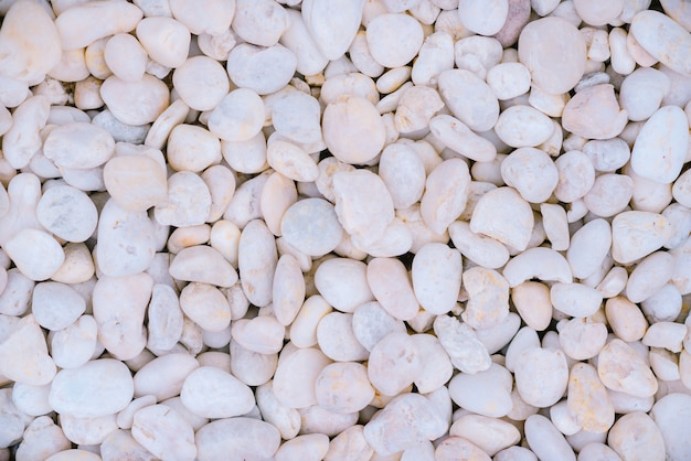 背景の白い石。 /白い装飾石。