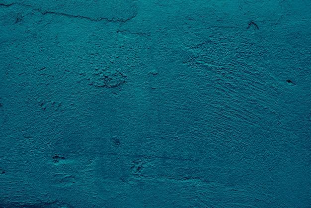 抽象芸術グランジブルーダークセメントまたはコンクリートのきれいな壁のテクスチャ背景