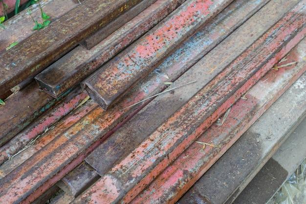 スチールの原材料のための錆鋼部材