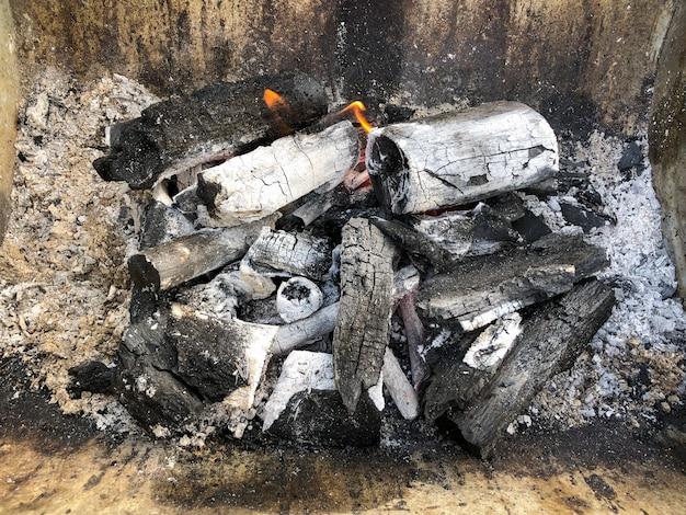 ピクニックでバーベキュー用炭の詳細